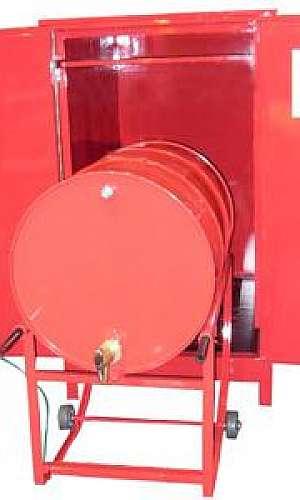 Armário corta fogo para tambor horizontal