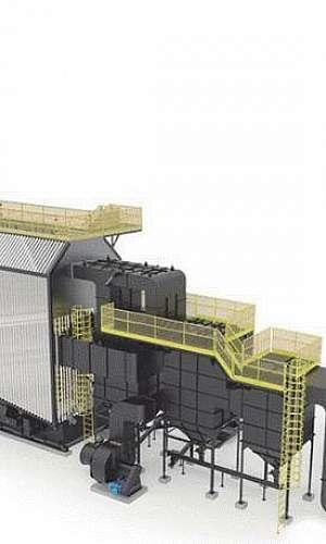 Caldeira industrial