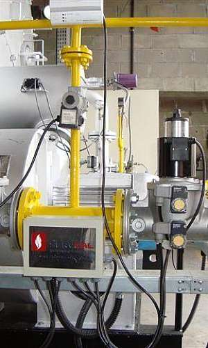 Empresa de montagem de caldeiras a gás