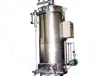 Caldeira geradora de vapor a lenha
