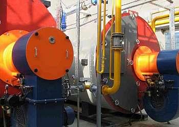 Instalação de caldeiras a vapor