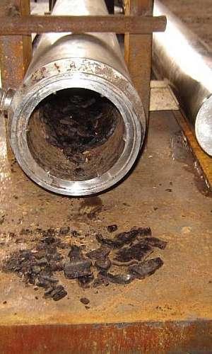 Limpeza química em trocador de calor