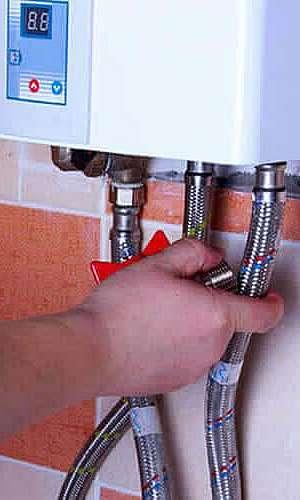 Manutenção aquecedor rinnai