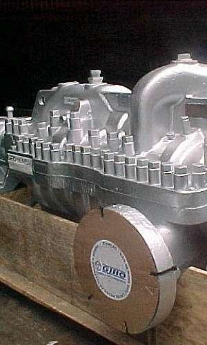 Manutenção de bomba para caldeira