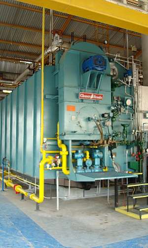 Manutenção em caldeiras de alta pressão