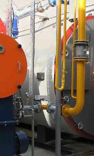 Serviço de manutenção de caldeiras industrial