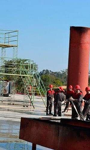 Treinamento para brigada de incêndio