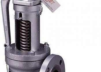 Valvula de segurança para caldeira